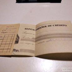 Documents bancaires: CHEQUE BANCO ESPAÑOL DE CRÉDITO, ALMAZORA. Lote 275337158