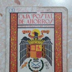 Documentos bancarios: LIBRETA CORRIENTE DE LA CAJA POSTAL DE AHORROS AÑOS 70. COMPLETA. W. Lote 277163503