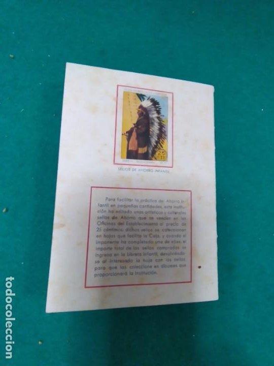 Documentos bancarios: LIBRETA DE AHORRO INFANTIL Nº 3959. CAJA GENERAL DE AHORROS Y MONTE DE PIEDAD DE ZARAGOZA. 1944. - Foto 3 - 278457733
