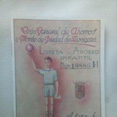 Documentos bancarios: CAJA GENERAL DE AHORROSCY MONTE DE PIEDAD DE ZARAGOZA,ARAGON Y RIOJA. Lote 278931253