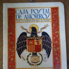 Documentos bancarios: 1946 RARA LIBRETA DE AHORRO CAJA POSTAL DE AHORROS LIBRETA CORRIENTE. Lote 286704903