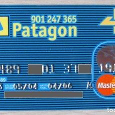 Documenti bancari: TARJETA MASTERCARD 4B BANCO PATAGON ACTUAL OPENBANK (GRUPO SANTANDER) - CAD/2006. Lote 289669468