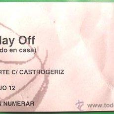 Coleccionismo deportivo: ENTRADA FINAL ACB BALONCESTO REAL MADRID - BARCELONA 2007. Lote 26323070