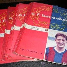 Coleccionismo deportivo: PROGRAMAS C.F.BARCELONA 1958 - 59, SUELTOS A 15 EUROS. Lote 23292119