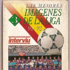 Coleccionismo deportivo: CINTA VHS LAS MEJORES IMAGENES DE LA LIGA 91-92 LAS MEJORES EQUIPOS. Lote 9581581