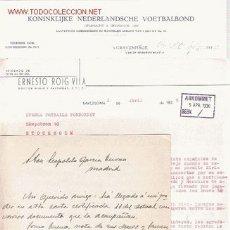 Coleccionismo deportivo: CONJUNTO DE DOCUMENTACIÓN SOBRE FÚTBOL 1930-1962. Lote 23562363