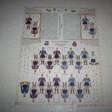 Coleccionismo deportivo: RECORTABLE BARÇA – ESPAÑOL. Lote 26843486