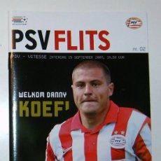 Coleccionismo deportivo: PROGRAMA PSV - VITESSE EREDIVISIE 2007/08. Lote 12145475