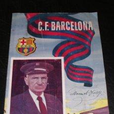 Coleccionismo deportivo: CF BARCELONA, PROGRAMA INTERNACIONAL , CF BARCELONA - V.F.B. STUTTGART ,2 SEPTIEMBRE 1954. Lote 14471567