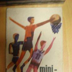 Coleccionismo deportivo: REGLAS DE JUEGO MINI BASKET DE COCACOLA 1966 DELAGACION NACIONAL DE LA SECCION FEMENINA.. Lote 15684502