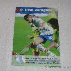 Coleccionismo deportivo: PROGRAMA OFICIAL ZARAGOZA - ARIS DE SALÓNICA (UEFA CUP 07/08). Lote 30947625
