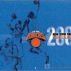 Coleccionismo deportivo: 405- BALONCESTO CALENDARIO NEW YORK KNICKS. Lote 27347973