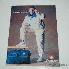 Coleccionismo deportivo: BASKET ( BALONCESTO ) : HOJA PUBLICITARIA DE ANTONIO DÍEZ MIGUEL. 1989. Lote 19966226