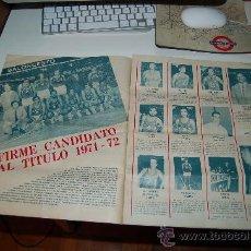 Coleccionismo deportivo: BALONCESTO ( BASKET ): REPORTAJE ILUSTRADO DEL BARÇA DE LA TEMPORADA 71-72. Lote 26471803