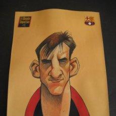 Coleccionismo deportivo: CARICATURA FERRER. FUTBOL CLUB BARCELONA. DREAM TEAM. EL MUNDO DEPORTIVO 1994. Lote 24412820