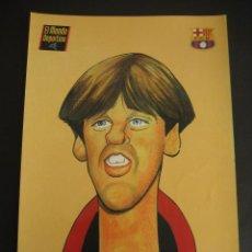 Coleccionismo deportivo: CARICATURA DE IVAN. FUTBOL CLUB BARCELONA. DREAM TEAM. EL MUNDO DEPORTIVO 1994. Lote 24412874
