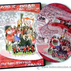 Coleccionismo deportivo: DVD FINAL DE LA COPA UEFA 2007 SEVILLA FC ESPANYOL FÚTBOL DEPORTE ESPAÑOL PARTIDO HISTÓRICO GLASGOW. Lote 26292760