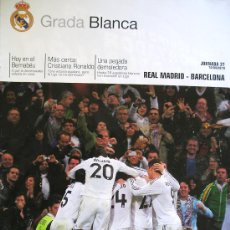 Coleccionismo deportivo: PROGRAMA OFICIAL FUTBOL REAL MADRID - BARCELONA 2010. Lote 26698332