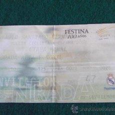 Coleccionismo deportivo: VUELTA CICLISTA A ESPAÑA 2002-ETAPA FINAL SANTIAGO BERNABEU-. Lote 25602599