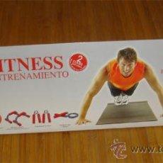 Coleccionismo deportivo: MEN´S FITNESS - DVD Y PACK DE ENTRENAMIENTO COMPLETO CON SUS ACCESORIOS.. Lote 26961392