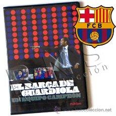 Coleccionismo deportivo: DVD EL BARÇA DE GUARDIOLA UN EQUIPO CAMPEÓN FÚTBOL CLUB BARCELONA FC DEPORTE PEP DIARIO PÚBLICO FCB. Lote 31376743