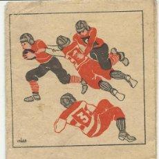 Coleccionismo deportivo: PROPAGANDA ANTIGUA DE RUGBY DE OVIEDO. Lote 28502387