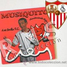 Colecionismo desportivo: CD SENTIMIENTO ROJO Y BLANCO - MUSIQUITO A MI SEVILLA FC - MÚSICA FÚTBOL CLUB DEPORTE - DIFÍCIL. Lote 28575112
