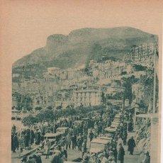 Coleccionismo deportivo: 12 RALLY DE MONTE CARLO. 12EME RALLYE AUTMOBILE MONTE-CARLO. 1933. HOJA DE REVISTA.. Lote 30285025