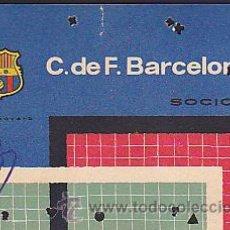 Coleccionismo deportivo: CARNET ANUAL C.F.BARCELOANA 1961. Lote 31160229