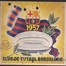 Coleccionismo deportivo: CARNET ANUAL C.F. BARCELONA TEMPORADA 1956-1957. Lote 31160271