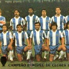 Coleccionismo deportivo: TARJETA POSTAL FÚTBOL CLUB OPORTO, 1987. Lote 31573891