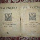 Coleccionismo deportivo: 0823- 2 FASCICLES DE 'MAI ENRERA' DEL BUTLLETÍ DEL CLUB EXCURSIONISTA DE GRÀCIA JUNY I SETEMBRE 1935. Lote 31662756