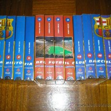 Coleccionismo deportivo: HISTORIA BARÇA LA VANGUARDIA 14 VIDEOS. Lote 32419875