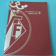 Coleccionismo deportivo: ANUARIO VILLARREAL C.F. TEMPORADA 2010 2011. Lote 32595445