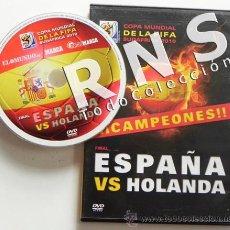 Coleccionismo deportivo: DVD LA FINAL DE MUNDIAL 2010 FÚTBOL ESPAÑA HOLANDA PRECINTADO COPA MUNDO CAMPEONES SUDÁFRICA DEPORTE. Lote 32879835