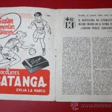 Coleccionismo deportivo: ANTIGUO SUPLEMENTO DEPORTIVO FC BARCELONA 1952-53 KUBALA - EDITADO INSTITUTO BALDOMA. Lote 33289271