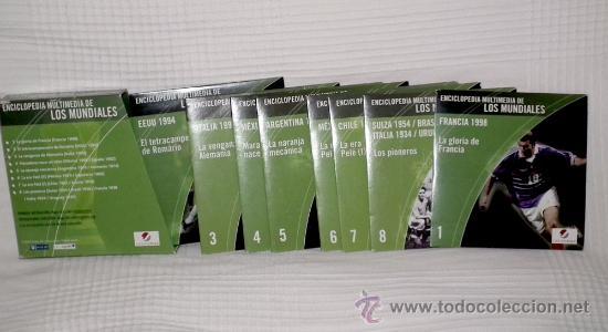 ENCICLOPEDIA DE LOS MUNDIALES DE FUTBOL (Coleccionismo Deportivo - Documentos de Deportes - Otros)