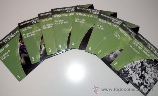 Coleccionismo deportivo: ENCICLOPEDIA DE LOS MUNDIALES DE FUTBOL - Foto 2 - 33307465