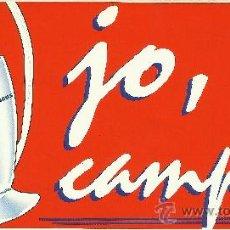 Coleccionismo deportivo: PEGATINA BARÇA CAMPEON DE EUROPA,1992. DIARIO SPORT.. Lote 33505065