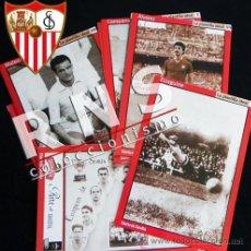 Coleccionismo deportivo: GRAN LOTE DE FICHAS SEVILLA FC - COLECCIONABLE DIARIO JUGADORES FOTOS EQUIPO FÚTBOL CLUB DEPORTE. Lote 33659221