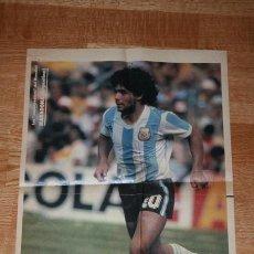 Coleccionismo deportivo: POSTER MARADONA. Lote 33766606