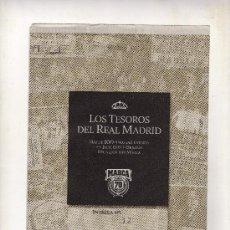 Coleccionismo deportivo: ENTREGA Nº 12 DE LOS TESOROS DEL REAL MADRID EDITADO POR EL DIARIO MARCA. Lote 33761146