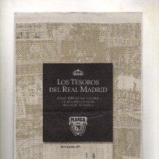 Coleccionismo deportivo: ENTREGA Nº 16 DE LOS TESOROS DEL REAL MADRID EDITADO POR EL DIARIO MARCA. Lote 33761174