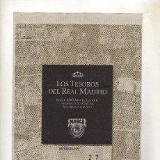 Coleccionismo deportivo: ENTREGA Nº 27 DE LOS TESOROS DEL REAL MADRID EDITADO POR EL DIARIO MARCA. Lote 33761289