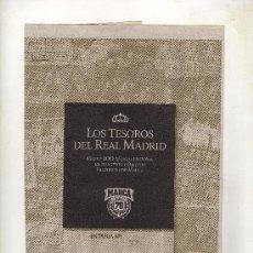 Coleccionismo deportivo: ENTREGA Nº 37 DE LOS TESOROS DEL REAL MADRID EDITADO POR EL DIARIO MARCA. Lote 33761393