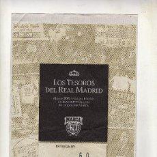 Coleccionismo deportivo: ENTREGA Nº 60 DE LOS TESOROS DEL REAL MADRID EDITADO POR EL DIARIO MARCA. Lote 33761556
