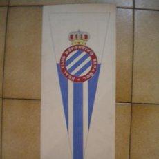 Coleccionismo deportivo: DIBUJO DEL REAL CLUB DEPORTIVO ESPAÑOL 1950'S PINTADO A MANO.. Lote 34110106