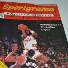 Coleccionismo deportivo: SPORTGRAMA Nº3-PASATIEMPOS DEPORTIVOS-1.989. Lote 34551313