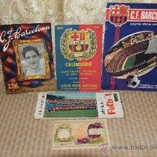 Coleccionismo deportivo: 2446- LOTE DE DOCUMENTOS DEL C.F. BARCELONA. 1949/1970. VER DESCRIPCION.. Lote 35665903