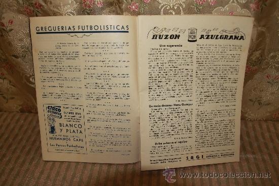 Coleccionismo deportivo: 2446- LOTE DE DOCUMENTOS DEL C.F. BARCELONA. 1949/1970. VER DESCRIPCION. - Foto 3 - 35665903